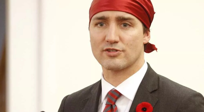 To the WORLD I offer my apology Trudeau may cause to or in your homelands